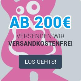 Versandkostenfrei ab 200€