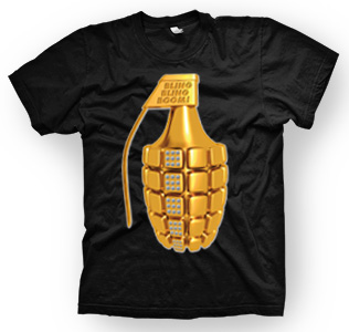 enough shirts,Bling, Bling Boom, T-Shirt, cooles Design