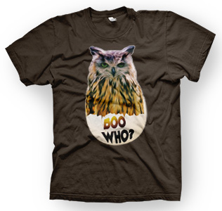 enough shirts, Boo Who, T-Shirt, cooles Design