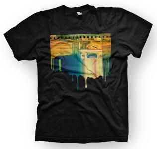 enough shirts, Bus 2 Nowhere, T-Shirt, cooles Design