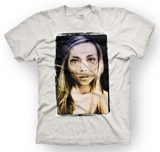 enough shirts, Dead Girl, T-Shirt, Zombie Design