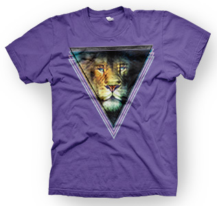 enough shirts, Double Lion, T-Shirt, cooles Design