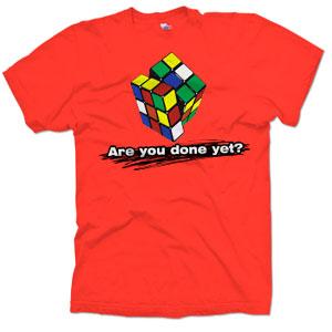 rubiks, cube, zauberwürfel, t-shirt