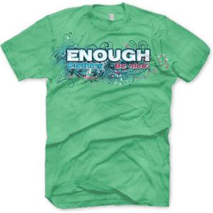 enough shirts, Be Nice Stars, t shirt