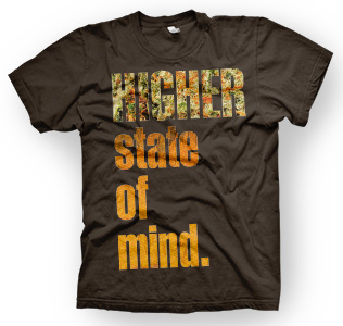 enough shirts, Higher-State, T-Shirt, cooles Design