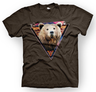enough shirts, HipBear, T-Shirt, cooles Design