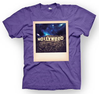 enough shirts,Hollyweed, T-Shirt, cooles Design