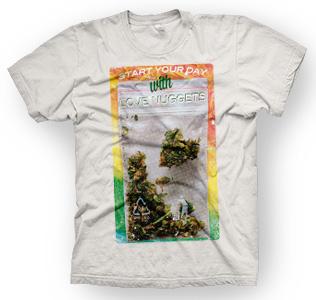 enough shirts, Love-Nuggets, T-Shirt, cooles Design
