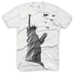 parallel clothing, statue of liberty, freiheitsstatur, freiheit, liberty, t shirt