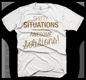 enough shirts, hilfs t-shirt für die Philippinen