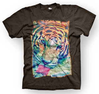 enough shirts, Tiger's-Vibe, T-Shirt, cooles Design
